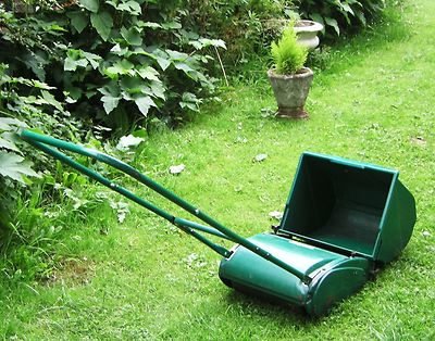 Qualcast Panther 30s Push Mower Grass Box Roller No