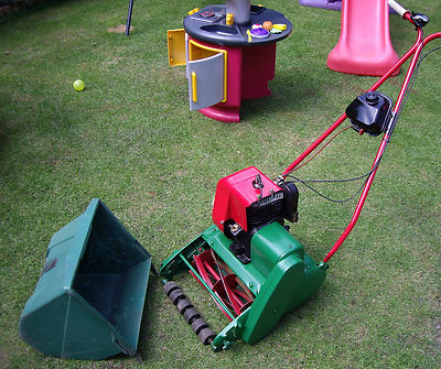 qualcast suffolk punch colt  propelled mower lawnmowers shop