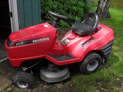 Honda 2113 Ride On Lawn Mower – Spares Or Repairs - Lawnmowers Shop