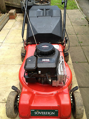 Sovereign Ng460 44cm Push Mower With Briggs And Stratton