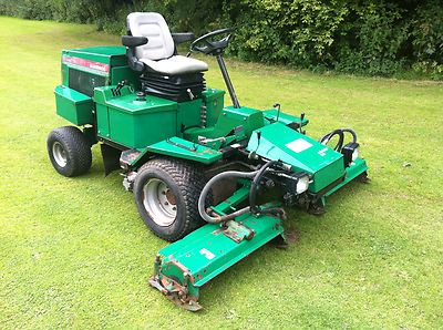 Ransomes 213 D Highway Three Gang Cylinder Ride On Tractor