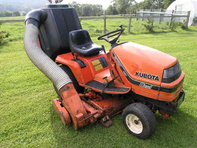 Kubota Diesel G1700 Hst Ride On Mower Garden Lawn Tractor
