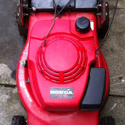 Honda Gv100 Petrol Push Lawn Mower Lawnmowers Shop