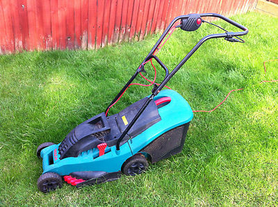 bosch rotak 37 push rotary mains mower excellent condition 37cm 1400w lawnmowers shop. Black Bedroom Furniture Sets. Home Design Ideas