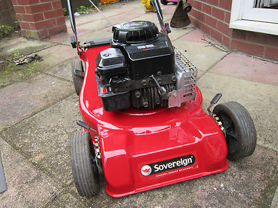 Sovereign Petrol Lawnmower Briggs And Stratton Classic