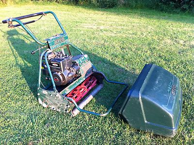 Atco Royale B24 Self Propelled Cylinder Mower With Petrol
