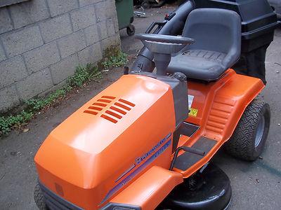 Husqvarna Lt125 Ride On Mower Lawnmowers Shop