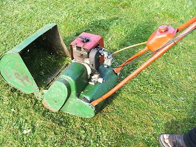 Vintage Suffolk Super Colt 24a Petrol Lawnmower Self