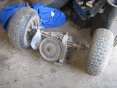 Peerless Transaxle Gearbox C W 16in Wheels Husqvarna Lt100