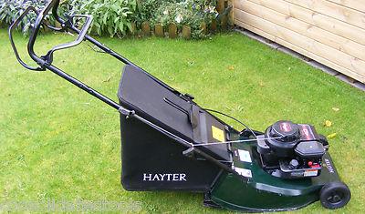 Hayter Hawk 41 Self Propelled Roller B Amp S Petrol Auto