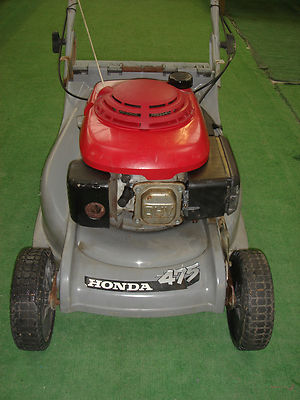 honda hrb 475 qxe self propelled lawnmowers shop. Black Bedroom Furniture Sets. Home Design Ideas