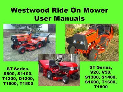 88901809960949760 westwood ride on mower garden tractor user manuals s t series westwood t1600 wiring diagram at soozxer.org