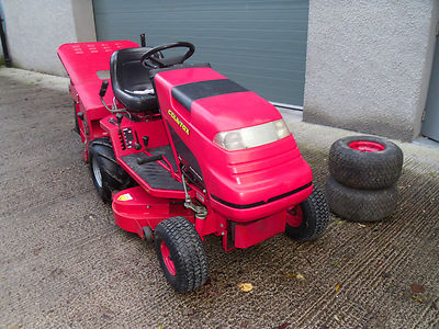 Countax C500h 38 Cut Sweeper Collector Lawn Tractor Mower