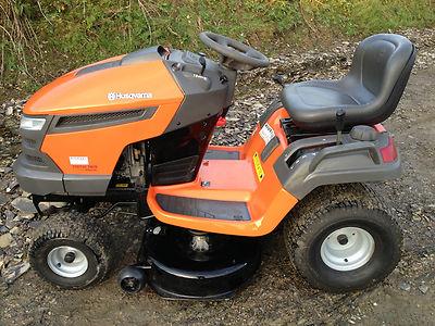 Kubota Lawn Tractor >> Husqvarna Yth150 Twin 15hp Ride On Lawn Mower Tractor, 46″ Cutting Deck 2008 - Lawnmowers Shop
