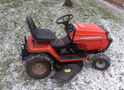 Mtd Lawnflite 560 Garden Tractor Ride On Lawnmower - Lawnmowers Shop