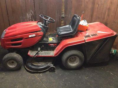 Mtd E 165 Lawn Tractor Ride On Mower Lawnmowers Shop