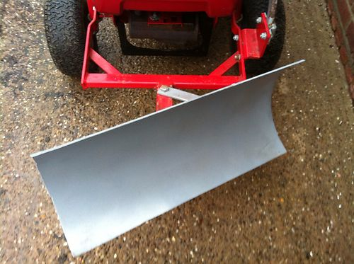 Snow Plow Blade To Fit Countax Westwood Ride On Lawn Mower
