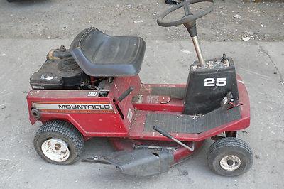 Mountfield 25 7hp Ride On Mower Lawnmower Tractor