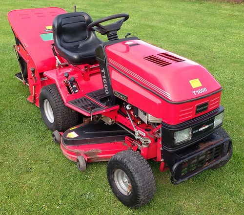 Mtd Tractor 1600 : Westwood t ride on mower compact garden tractor