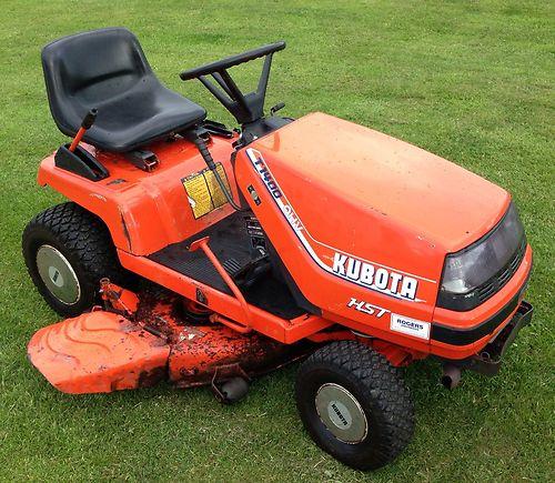Kubota T1400 Ride On Mower Compact Tractor Lawnmowers Shop