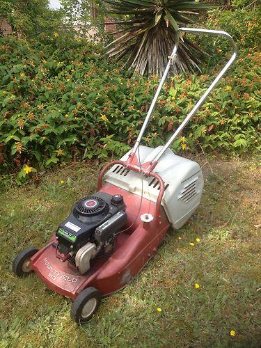 Mountfield M3 Classic Petrol Push Lawnmower Mower With
