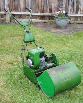 Qualcast Suffolk Commodore 14 Self Propelled Cylinder