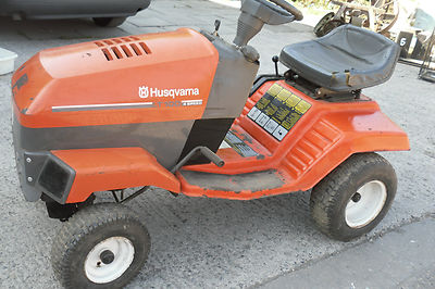 husqvarna lt  ride  mower spares  repair  hp briggs stratton lawnmowers shop