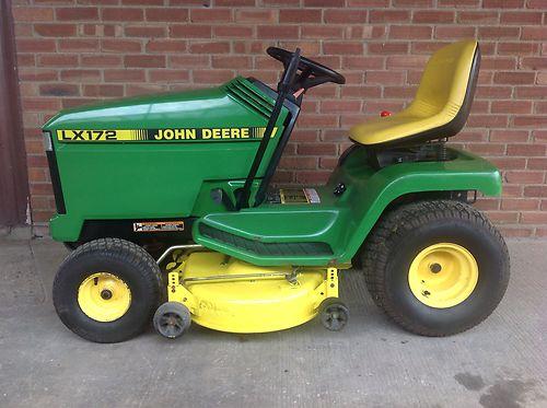 John Deere 172 Lawn Tractor : John deere lx ride on lawnmower lawn mower lawnmowers
