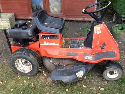 Ride On Lawn Mower Jacobsen Homelite Tractor Grass