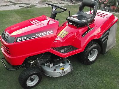 Honda 2113 Ride On Lawn Mower - Lawnmowers Shop