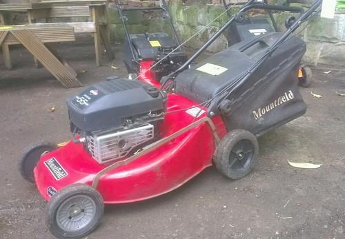 Mountfield Petrol Lawn Mower Quantum Xte55 Self Propelled