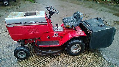 Mtd Lawnflite 548 Ride On Mower Garden Tractor For