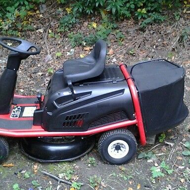 mtd lawnflite pinto ride  mower garden tractor lawnmowers shop