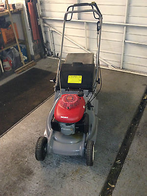 honda hrb 476c qxe lawn mower self propelled rear roller. Black Bedroom Furniture Sets. Home Design Ideas