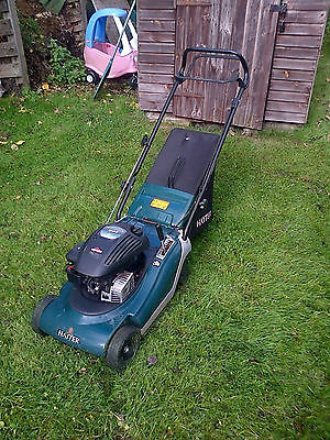 how to start a ride on mower without push