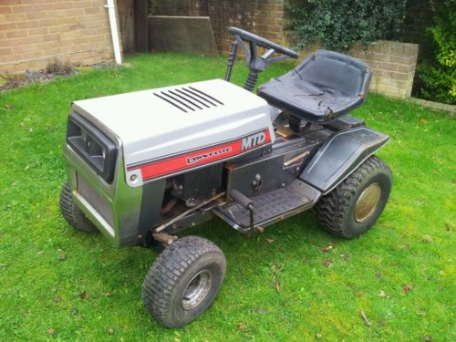 16 Mtd Tractor : Mtd lawnflite hp ride on mower garden tractor