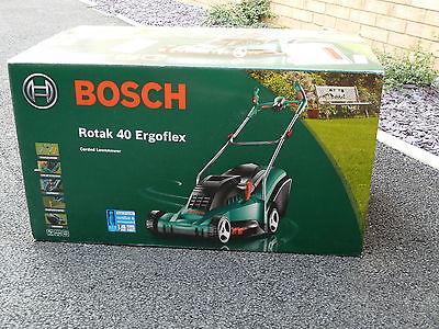 bosch rotak 40 ergoflex electric rotary lawnmower brand new in box lawnmowers shop. Black Bedroom Furniture Sets. Home Design Ideas