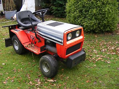 Mtd Lawnflite 16 Hp Ride On Mower Garden Tractor