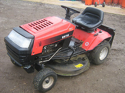Mtd Rh115 Ride On Mower - Lawnmowers Shop