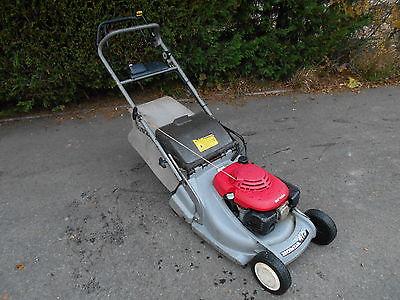 honda hrb 475 qme self propelled roller petrol lawn mower. Black Bedroom Furniture Sets. Home Design Ideas