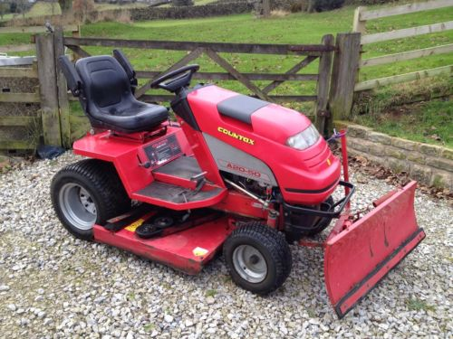 Snow Plow Countax A20 50 Ride On Mower Tractor 42 Deck