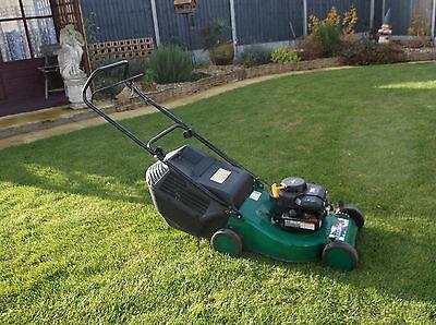Qualcast Quadtrack 45 R484 Push Lawnmower Briggs