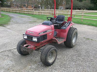 Honda 6522 Compact Mini Tractor Diesel 4wd Lawnmowers Shop