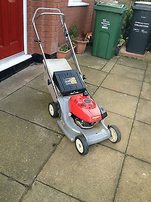 Honda Hr 173 Self Propelled Rotary Petrol Mower Excellent Condition - Lawnmowers Shop