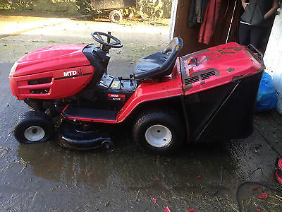 Ride On Mower Lawn Tractor – Mtd E/130 – Spares Or Repairs – No Reserve - Lawnmowers Shop