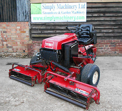 Toro 216 H Ride On Cylinder Mower Sit On Compact Lawn