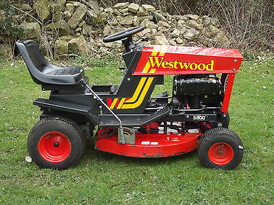 Westwood S800 Sit Ride On Lawn Mower Garden Tractor