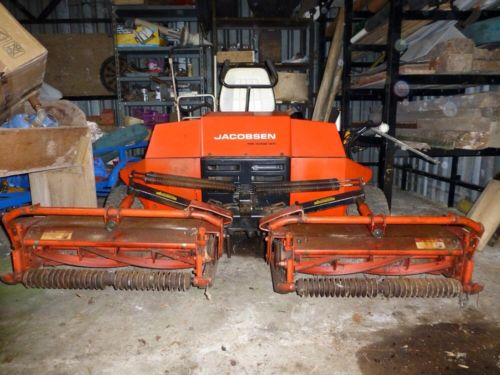 Jacobsen Tri King 1471 Ride On Lawnmower With 71 Inch Cut Lawnmowers Shop