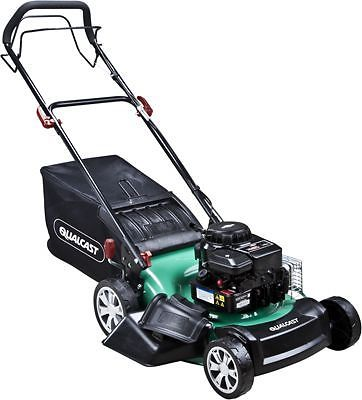 qualcast self propelled petrol rotary lawnmower 125cc. Black Bedroom Furniture Sets. Home Design Ideas