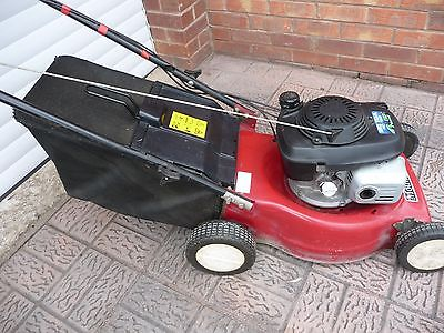 mountfield petrol  propelled lawnmower gcv honda  warrington cheshire lawnmowers shop